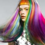 rainbow-hair-with-orange-bangs
